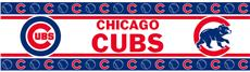 MLB Chicago Cubs Peel & Stick Wall Border | By DomesticBin
