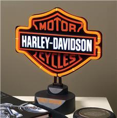 Harley Davidson Neon Table Lamp