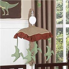 Dinosaur Land Musical Crib Mobile | By DomesticBin