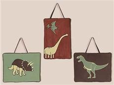 Dinosaur Land Wall Hangings | By DomesticBin