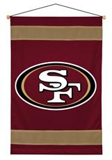 San Francisco 49ers Sidelines Wall Hanging | By DomesticBin