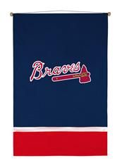 Atlanta Braves Sidelines Wall Hanging | By DomesticBin
