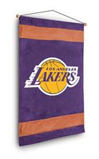 Los Angeles Lakers Sidelines Wall Hanging | By DomesticBin