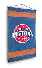 Detroit Pistons Sidelines Wall Hanging | By DomesticBin