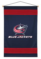 Columbus Blue Jackets Sidelines Wall Hanging | By DomesticBin