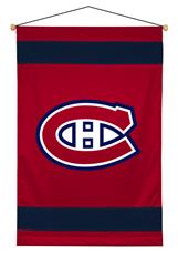 Montreal Canadiens Sidelines Wall Hanging | By DomesticBin