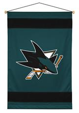 San Jose Sharks Sidelines Wall Hanging | By DomesticBin
