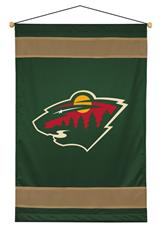 Minnesota Wild Sidelines Wall Hanging | By DomesticBin