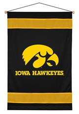 Iowa Hawkeyes Sidelines Wall Hanging | By DomesticBin