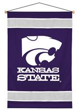 Kansas State Wildcats Sidelines Wall Hanging | By DomesticBin