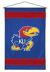 Kansas Jayhawks Sidelines Wall Hanging | By DomesticBin