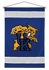 Kentucky Wildcats Sidelines Wall Hanging | By DomesticBin