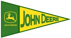 John Deere TRIANGLE Fablique | By DomesticBin