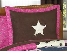 Cowgirl Western Pillow Sham | By DomesticBin