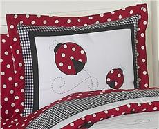 Little Ladybug Pillow Sham | By DomesticBin