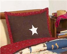 Wild West Pillow Sham   By DomesticBin