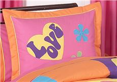 Groovy Pillow Sham | By DomesticBin