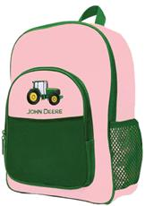 John Deere Pink Backpack | By DomesticBin