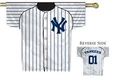 MLB New York Yankees 2-Sided Jersey House Flag | By DomesticBin