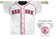 MLB Boston Red Sox 2-Sided Jersey House Flag | By DomesticBin