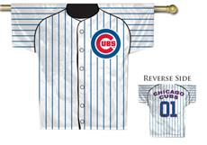 MLB Chicago Cubs 2-Sided Jersey House Flag | By DomesticBin