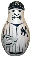 MLB New York Yankees Inflatable Bop Bag | By DomesticBin