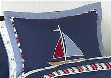 Nautical Nights Pillow Sham | By DomesticBin