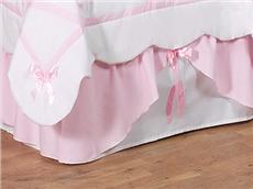 Ballerina Crib/Toddler Bedskirt | By DomesticBin