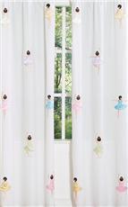 Ballerina Window Panels | By DomesticBin