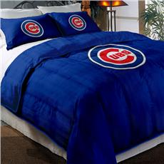 Cubs Twin Embroidered Comforter with 2 Shams | By DomesticBin