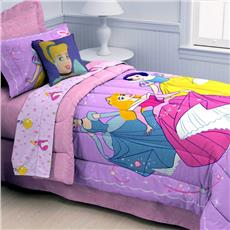 Princess Dance and Romance Twin Comforter | By DomesticBin