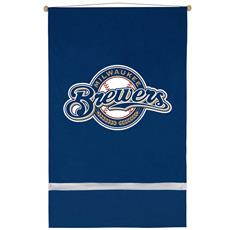 Milwaukee Brewers Sidelines Wall Hanging | By DomesticBin