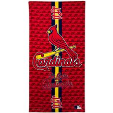 St Louis Cardinals Fiber Reactive Beach Towel | By DomesticBin