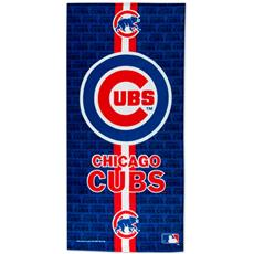 Chicago Cubs Fiber Reactive Beach Towel | By DomesticBin