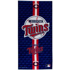 Minnesota Twins Fiber Reactive Beach Towel | By DomesticBin