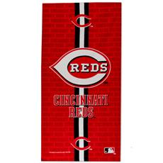 Cincinnati Reds Fiber Reactive Beach Towel | By DomesticBin