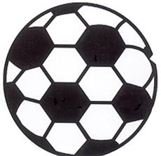 SOCCERBALL Fun Rug | By DomesticBin