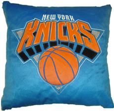 "NEW YORK KNICKS NBA 16"" Plush Pillow | By DomesticBin"
