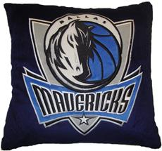 "DALLAS MAVERICKS NBA 16"" Plush Pillow 