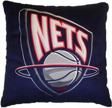 "NEW JERSEY NETS NBA 16"" Plush Pillow | By DomesticBin"