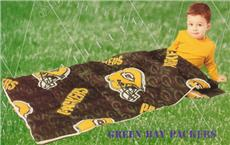 GREEN BAY PACKERS Slumber Bag | By DomesticBin