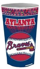 Atlanta Braves Wastebasket | By DomesticBin