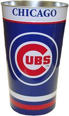 Chicago Cubs Wastebasket | By DomesticBin