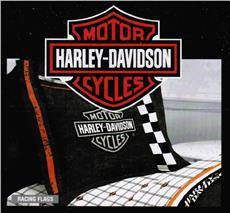 Harley Davidson RACING FLAG Bedding