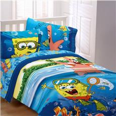 Spongebob SEA ADVENTURE Bedding for Kids | By DomesticBin