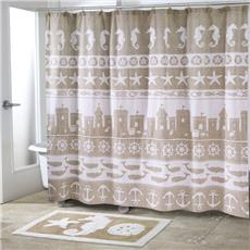sea u0026 sand shower curtain and accessories