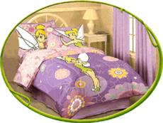 TINKERBELL OPTIC Kids Bedding for Girls