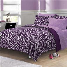 Zebra Purple Bed In A Bag-CHF | By DomesticBin