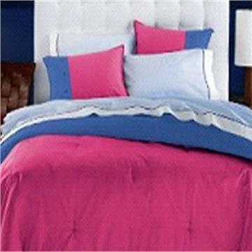 Dorm Room In A Box-XL Twin Size 10 PC Set  Rose/Blue | By DomesticBin