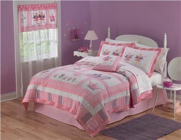 Fairy Princess Garden Quilted Bedding & Accessories